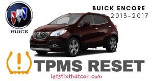 TPMS Reset-Buick Encore 2013-2017 Tire Pressure Sensor