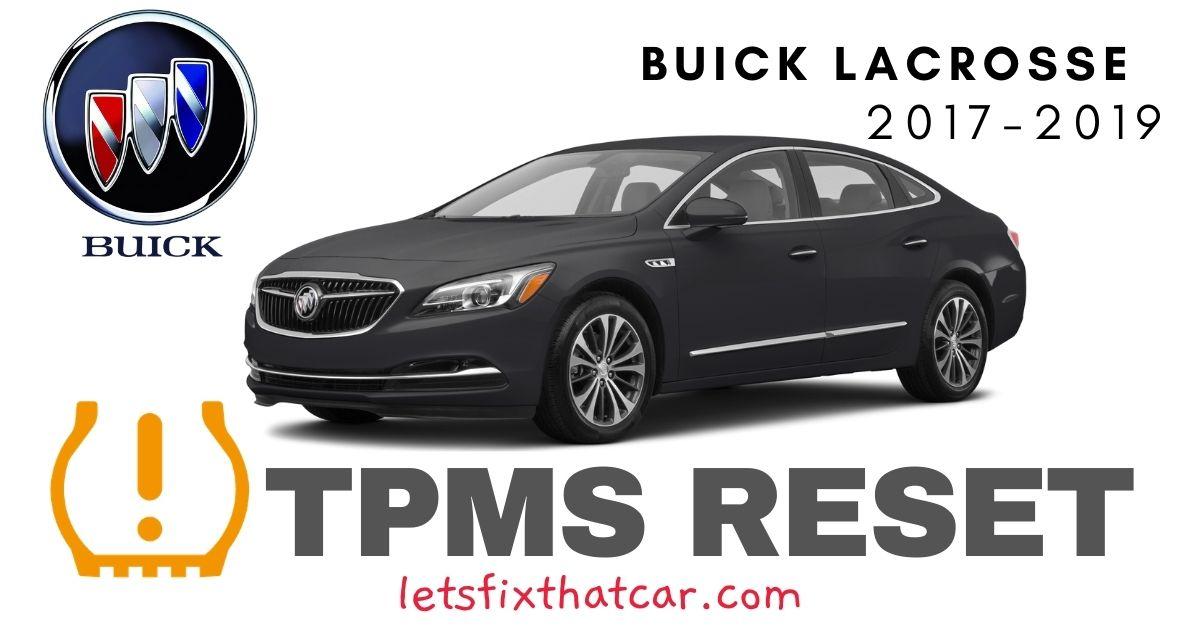 TPMS Reset-Buick Lacrosse 2017-2019 Tire Pressure Sensor