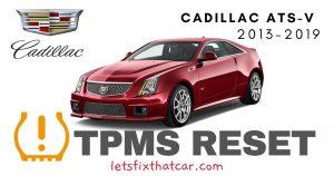TPMS Reset-Cadillac ATS-V 2013-2019 Tire Pressure Sensor