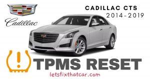 TPMS Reset-Cadillac CTS 2014-2019 Tire Pressure Sensor