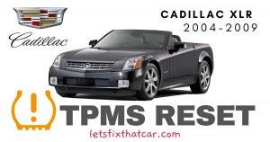 TPMS Reset-Cadillac XLR 2004 – 2009 Tire Pressure Sensor