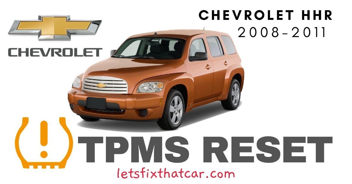 TPMS Reset-Chevrolet HHR 2008-2011 Tire Pressure Sensor