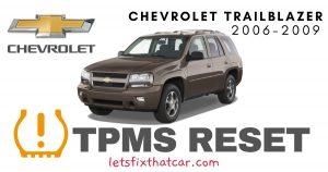 TPMS Reset-Chevrolet TrailBlazer 2006-2009 Tire Pressure Sensor