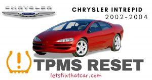 TPMS Reset-Chrysler Intrepid 2002-2004 Tire Pressure Sensor