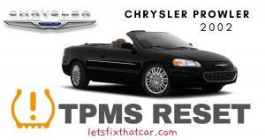 TPMS Reset-Chrysler Prowler 2002 Tire Pressure Sensor