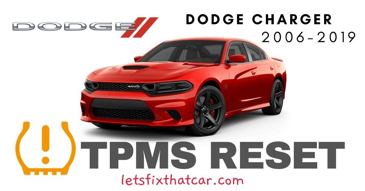 TPMS Reset-Dodge Charger 2006-2019 Tire Pressure Sensor