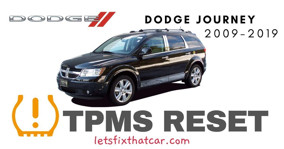 TPMS Reset-Dodge Journey 2009-2019 Tire Pressure Sensor