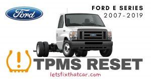TPMS Reset-Ford E Series 2007-2019 Tire Pressure Sensor