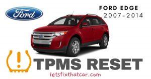 TPMS Reset-Ford Edge 2007-2014 Tire Pressure Sensor