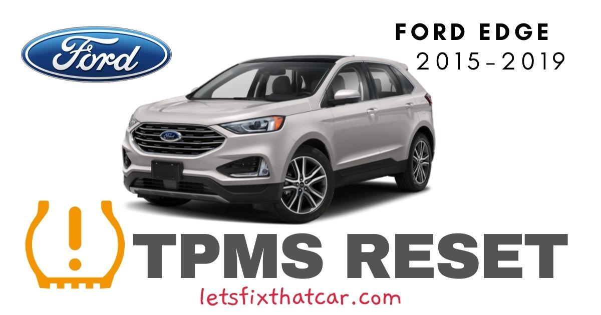 TPMS Reset-Ford Edge 2015-2019 Tire Pressure Sensor