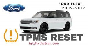 TPMS Reset-Ford Flex 2009-2019 Tire Pressure Sensor