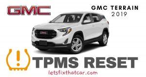 TPMS Reset-GMC Terrain 2019 Tire Pressure Sensor