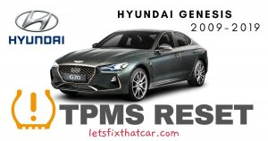 TPMS Reset-Hyundai Genesis 2009-2019 Tire Pressure Sensor