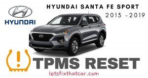 TPMS Reset-Hyundai Santa Fe Sport 2013-2019 Tire Pressure Sensor