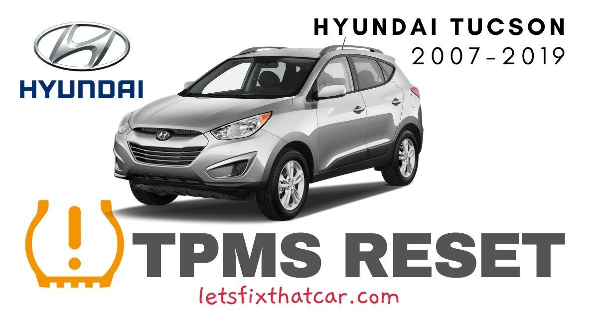 TPMS Reset-Hyundai Tucson 2007-2019 Tire Pressure Sensor