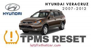 TPMS Reset-Hyundai Veracruz 2007-2012 Tire Pressure Sensor