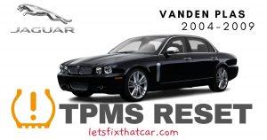 TPMS Reset- Jaguar Vanden Plus 2004-2009 Tire Pressure Sensor