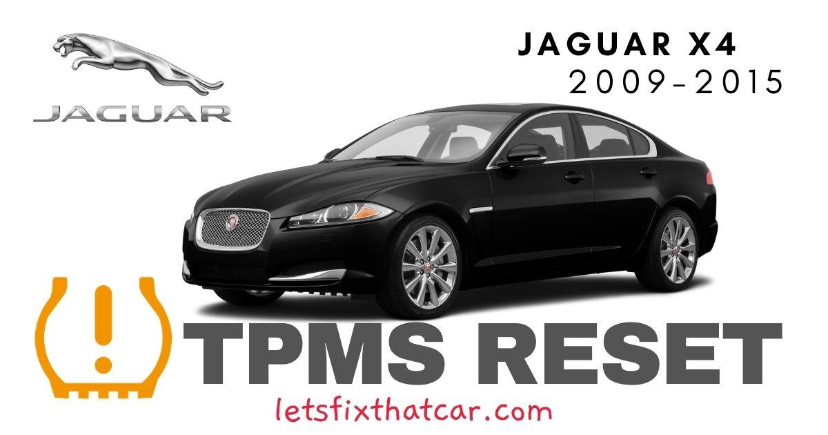 TPMS Reset-Jaguar XF 2009-2015 Tire Pressure Sensor