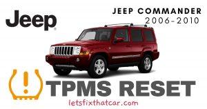 TPMS Reset-Jeep Commander 2006-2010 Tire Pressure Sensor