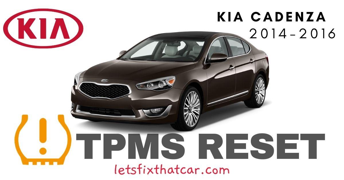TPMS Reset-KIA Cadenza 2014-2016 Tire Pressure Sensor