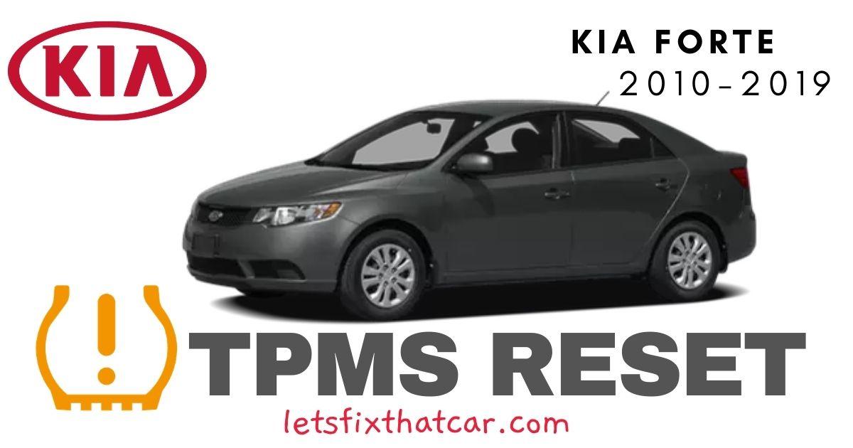 TPMS Reset-KIA Forte 2010-2019 Tire Pressure Sensor