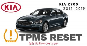 TPMS Reset-KIA K900 2015-2019 Tire Pressure Sensor