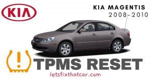 TPMS Reset-KIA Magentis 2008-2010 Tire Pressure Sensor