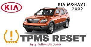 TPMS Reset-KIA Mohave 2009 Tire Pressure Sensor