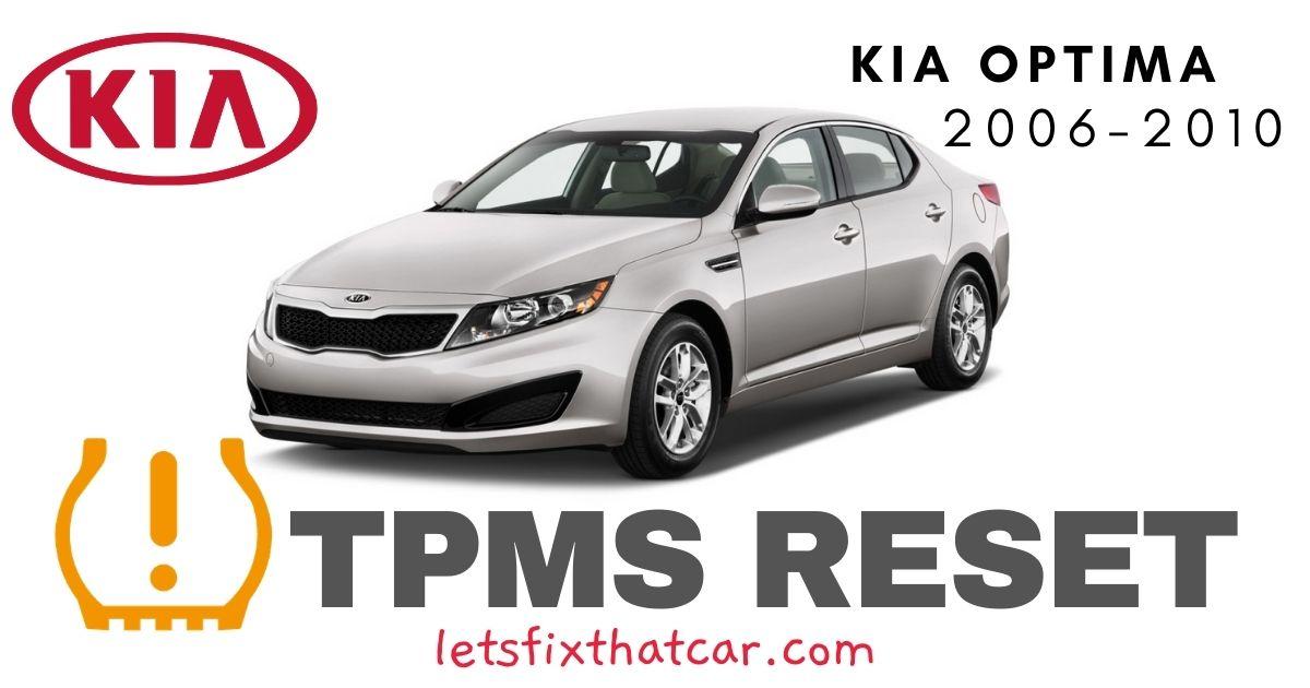 TPMS Reset-KIA Optima 2006-2010 Tire Pressure Sensor