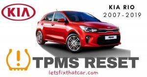 TPMS Reset-KIA Rio 2007-2019 Tire Pressure Sensor