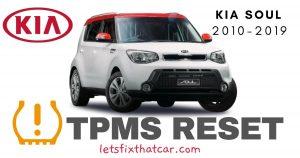 TPMS Reset-KIA Soul 2010-2019 Tire Pressure Sensor