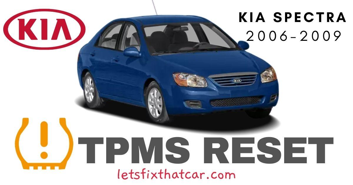 TPMS Reset-KIA Spectra 2006-2009 Tire Pressure Sensor