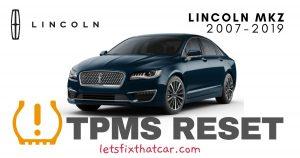 TPMS Reset-Lincoln MKZ 2007-2019 Tire Pressure Sensor