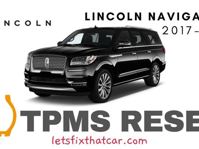 TPMS Reset-Lincoln Navigator 2007-2019 Tire Pressure Sensor