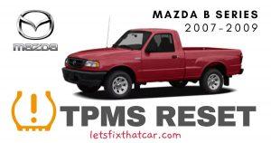 TPMS Reset-Mazda B Series 2007-2009 Tire Pressure Sensor