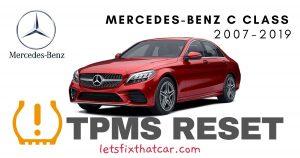 TPMS Reset-Mercedes-Benz C Class 2007-2019 Tire Pressure Sensor