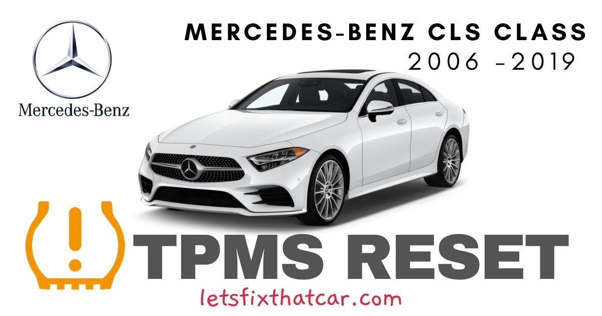 TPMS Reset-Mercedes-Benz CLS Class 2006-2019 Tire Pressure Sensor