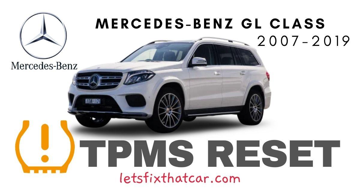 TPMS Reset- Mercedes-Benz GL Class 2007-2019 Tire Pressure Sensor