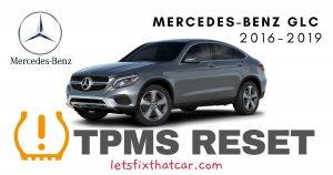 TPMS Reset-Mercedes-Benz GLC 2016-2019 Tire Pressure Sensor