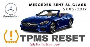 TPMS Reset-Mercedes-Benz SL Class 2006-2019 Tire Pressure Sensor