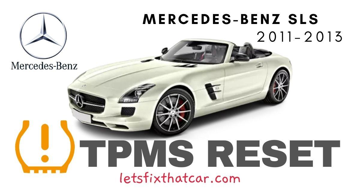 TPMS Reset-Mercedes-Benz SLS 2011-2013 Tire Pressure Sensor