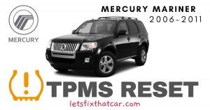 TPMS Reset-Mercury Mariner 2006-2011 Tire Pressure Sensor