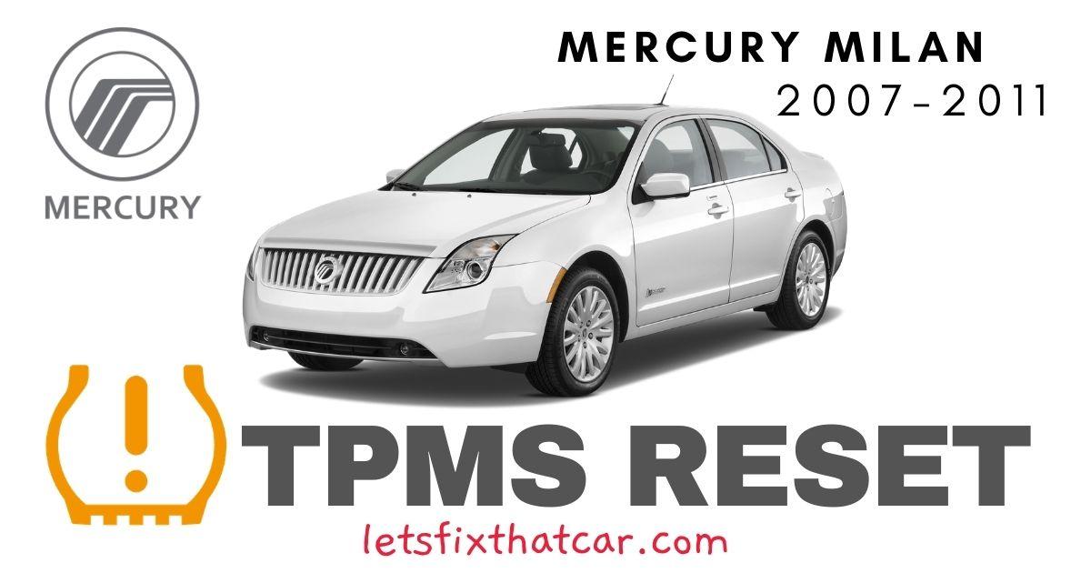 TPMS Reset-Mercury Milan 2007-2011 Tire Pressure Sensor