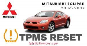 TPMS Reset-Mitsubishi Eclipse 2006-2007 Tire Pressure Sensor