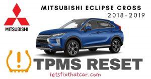 TPMS Reset-Mitsubishi Eclipse Cross 2018-2019 Tire Pressure Sensor