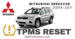 TPMS Reset-Mitsubishi Endeavor 2004-2011 Tire Pressure Sensor
