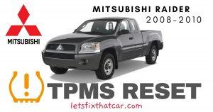 TPMS Reset-Mitsubishi Raider 2008-2010 Tire Pressure Sensor