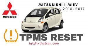 TPMS Reset-Mitsubishi i-MiEV 2010-2017 Tire Pressure Sensor