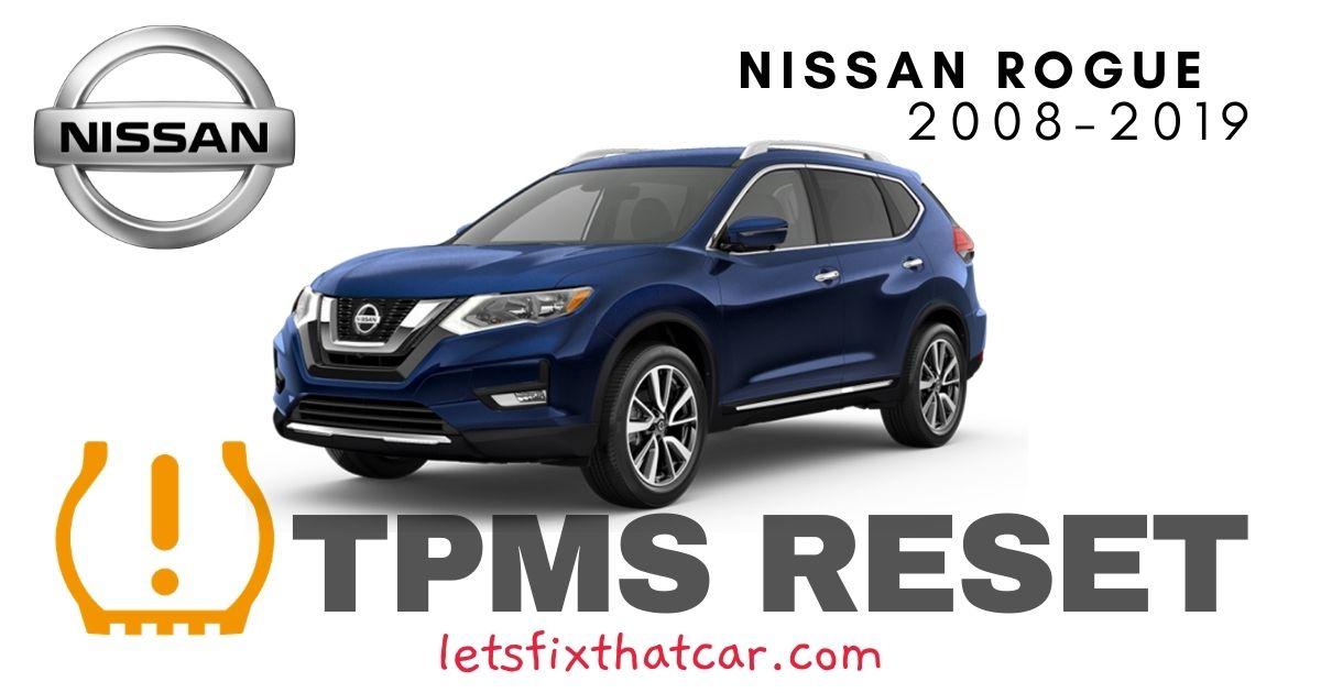TPMS Reset-Nissan Rogue 2008-2019 Tire Pressure Sensor