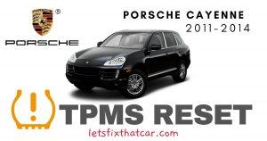TPMS Reset-Porsche Cayenne 2011-2014 Tire Pressure Sensor (2)